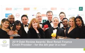 Best Retail Finance Credit Provider Award