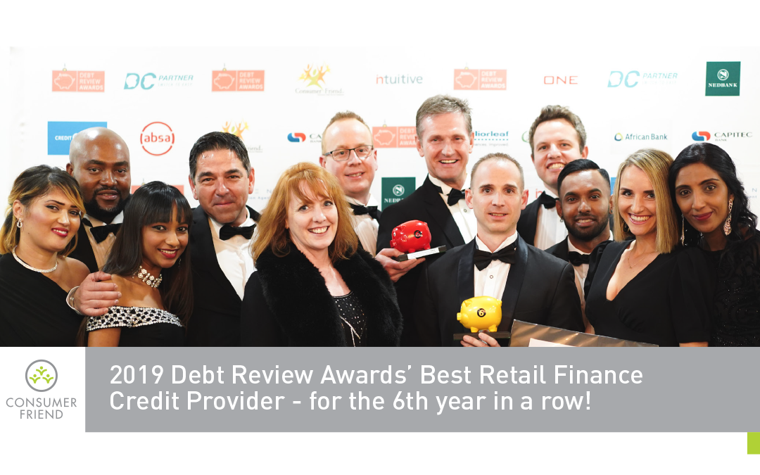 Best Retail Finance Credit Provider Award 2019