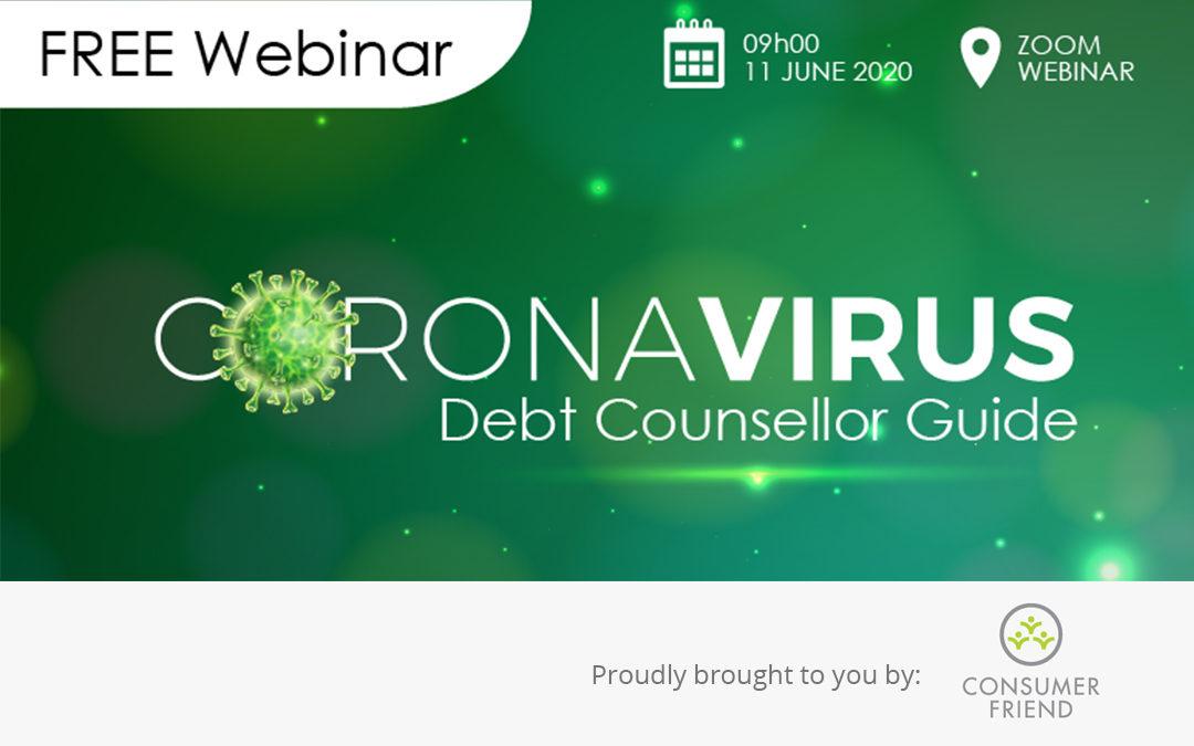 Coronavirus Debt Counsellor Guide FREE Webinar