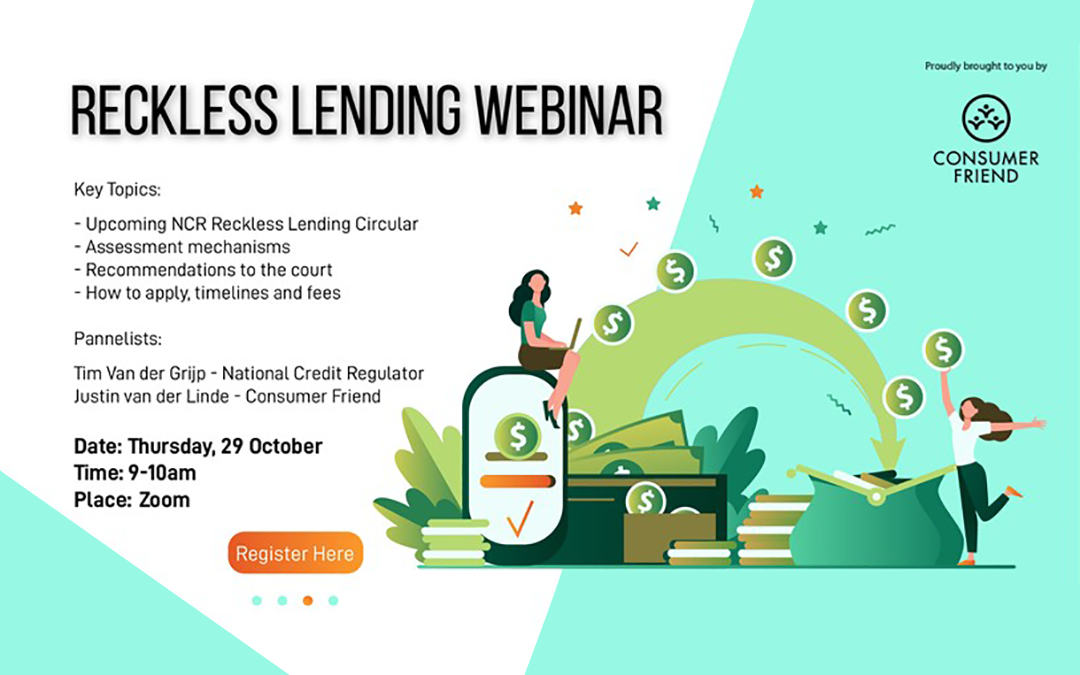 Reckless Lending Webinar