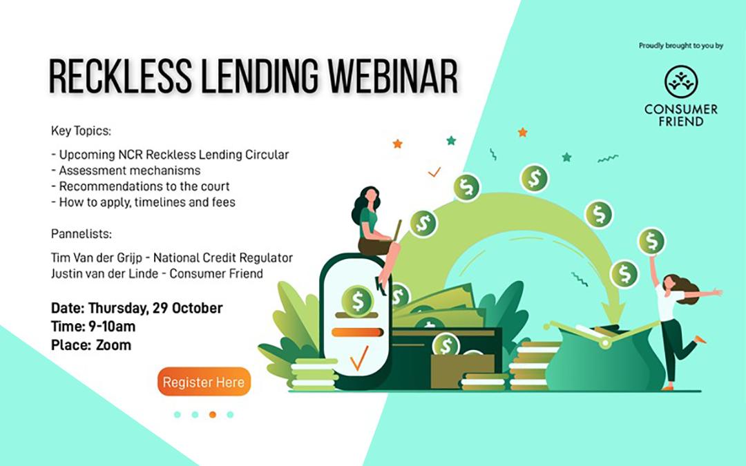 Reckless Lending Webinar