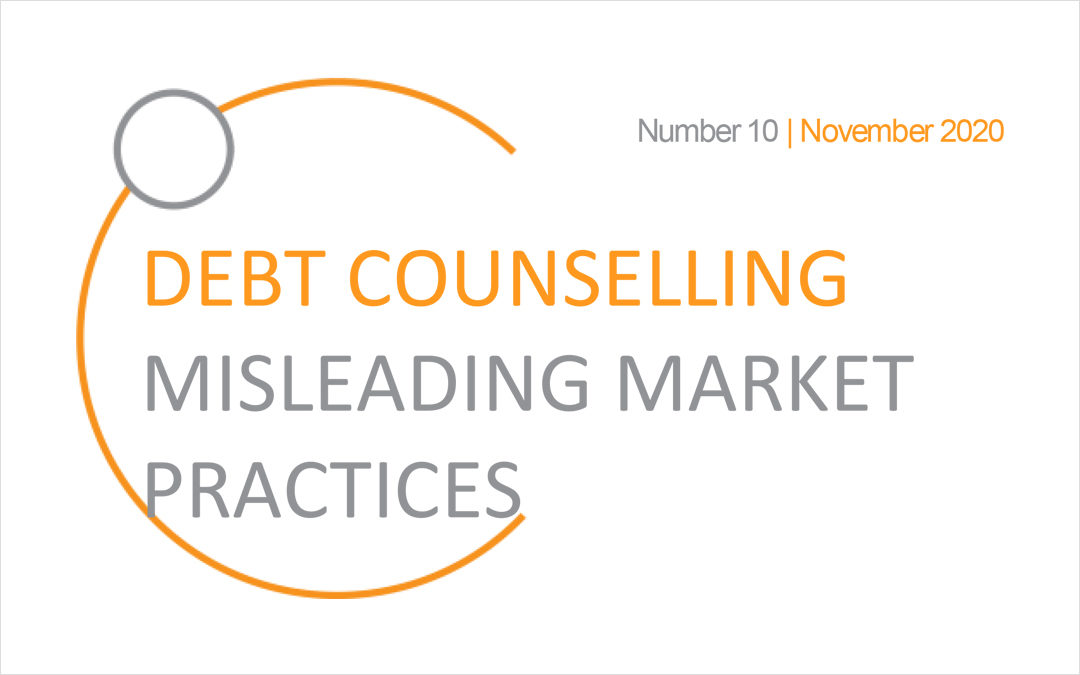 Debt Counselling Misleading Market Practices