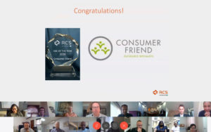 Consumer Friend Recognised by RCS