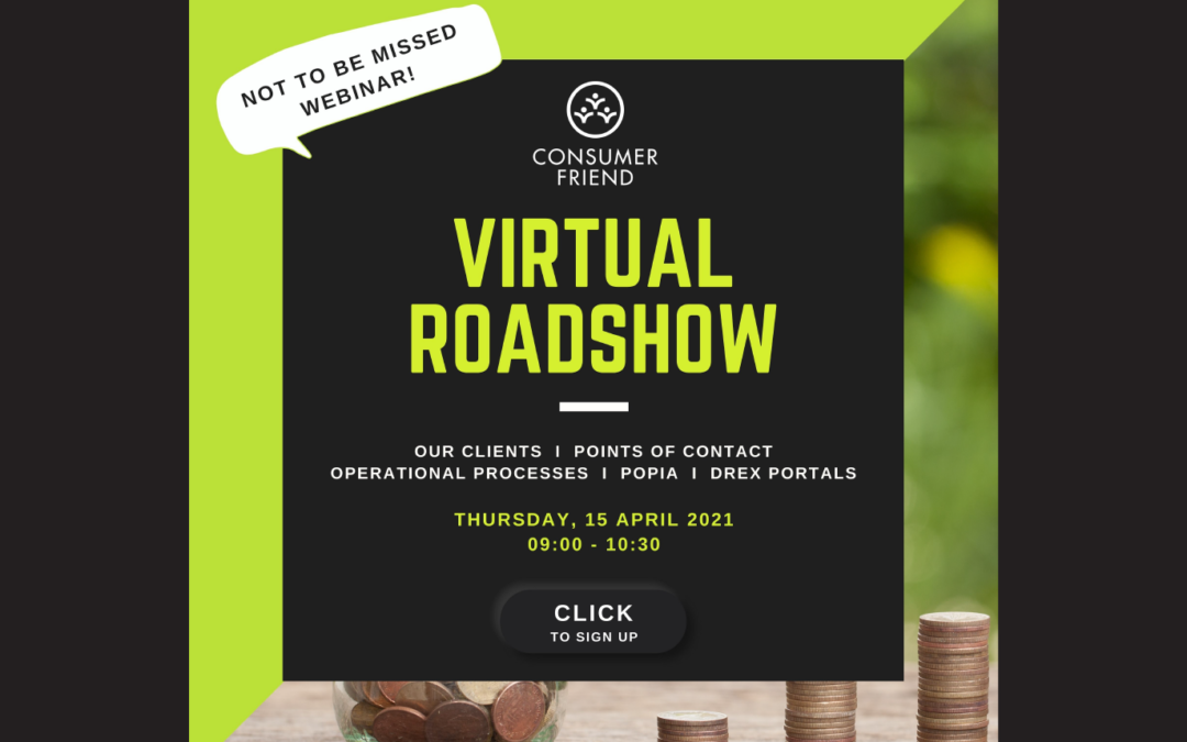 Consumer Friend Virtual Roadshow